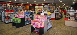 Completa tienda del Área de servicio Mauros - el Puig A7 - Km 311